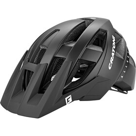 Cratoni Allset Casco, black matte